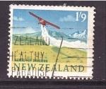 Sellos de Oceania - Nueva Zelanda -  fumigación aérea