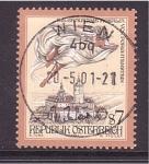 sellos de Europa - Austria -  edificio característico