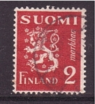 Stamps : Europe : Finland :  correo postal