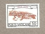 Stamps Europe - Vatican City -  Mapa ciudad del Vaticano