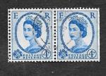 de Europa - Reino Unido -  Isabel II