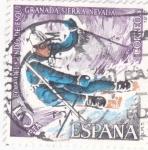 Stamps Spain -  COPA MUNDIAL DE ESQUÍ-SIERRA NEVADA(36)