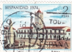 Stamps Europe - Spain -  HISPANIDAD-74 BUENOS AIRES   (36)