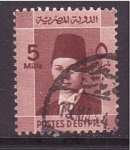 de Africa - Egipto -  rey Faruk