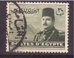 Stamps Africa - Egypt -  rey Farouk