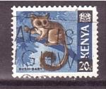 Sellos de Africa - Kenya -  serie- fauna keniata