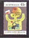 Sellos de Oceania - Australia -  serie- Community health