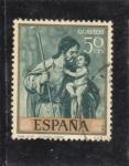 Sellos del Mundo : Europa : España : SAN JOSÉ (Alonso Cano) (36)