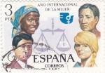 Sellos del Mundo : Europa : España : AÑO INTERNACIONAL DE LA MUJER (36)