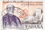 Sellos del Mundo : Europa : España : PRIMER CENTº FUNDACIÓN COMPAÑIA SANTA TERESA DE JESUS (36)