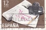Sellos del Mundo : Europa : España : HOMENAJE A LA PRENSA  (36)
