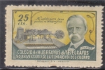 Stamps : Europe : Spain :  COLEGIO DE HUERFANOS DE TELEGRAFOS (36)