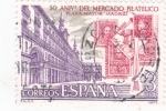 Stamps : Europe : Spain :  50 ANIVERSARIO MERCADO FILATÉLICO (36)