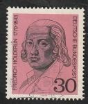 Sellos de Europa - Alemania -  481 - Friedrich Holderlin