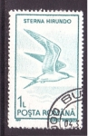 Stamps of the world : Romania :  serie- aves