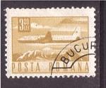 Stamps of the world : Romania :  serie- comunicaciones