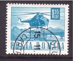 Stamps Romania -  serie- Comunicaciones