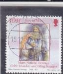 Stamps : Europe : United_Kingdom :  Celta isleño-isla de Man