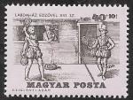 Stamps Europe - Hungary -  1735 - Historia del tenis