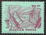 sellos de Europa - Hungría -  1737 - Historia del tenis