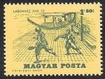 Stamps Europe - Hungary -  1739 - Historia del tenis