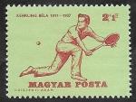 Stamps Europe - Hungary -  1742 - Historia del tenis