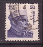 Sellos de Asia - India -  Nehru