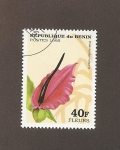 Stamps Africa - Benin -  Flor dracunculus