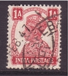 Stamps Asia - India -  Jorge V