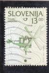 Stamps : Europe : Slovenia :  artesanía