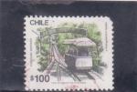 de America - Chile -  funicular Santiago