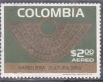 de America - Colombia -  Nariguera cultura Sinu