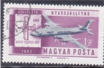 Stamps : Europe : Hungary :  aviación