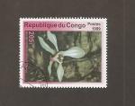 Stamps Republic of the Congo -  Flor Ophyris