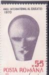 Sellos de Europa - Rumania -  año internacional de la educación 1970