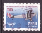 Sellos de America - Perú -  OACI