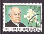 sellos de America - Cuba -  historia latinoamericana