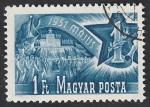 sellos de Europa - Hungría -  994 - 1º de Mayo