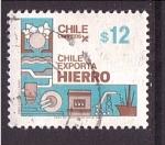 Sellos de America - Chile -  serie- Chile exporta