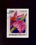 sellos de Africa - Togo -  F Odontoglossum