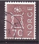 Stamps Norway -  serie- prehistoria