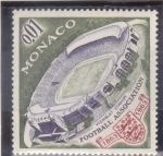 Sellos del Mundo : Europa : Mónaco : centenario Wembley Stadium