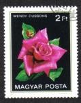 Sellos de Europa - Hungría -  Rosas