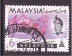 Sellos de Asia - Malasia -  Estado de Selangor