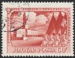 Sellos de Europa - Hungría -  1029 - Monumento a Stalin