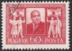 sellos de Europa - Hungría -  984 - 2º Congreso del Partido nacional de los trabajadores, Mathias Rakosi