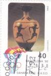 Stamps Spain -  juegos olímpicos Barcelona'92