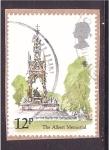 Stamps United Kingdom -  The Albert Memorial