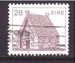Sellos de Europa - Irlanda -  serie- arquitectura a través de la historia