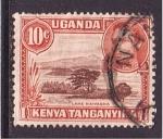 Stamps Kenya -  lago naivasha